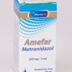 AMEFAR - METRONIDAZOL FCO. X 120ML.