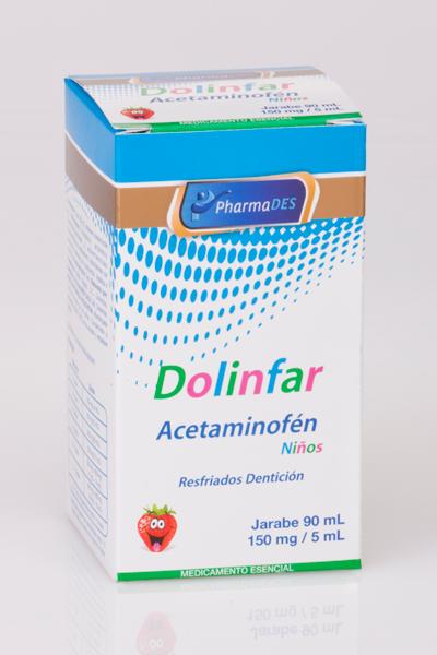 DOLINFAR: ACETAMINOFEN 100MG. FCO. X 30ML.