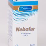 NEBOFAR: BROMHEXINA HCL 0,08%  FCO. 120ML.
